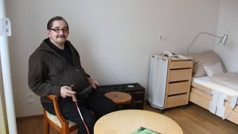 Gregor Strub bezieht am Mittwochnachmittag sein Zimmer im Süssbach-Neubau.
