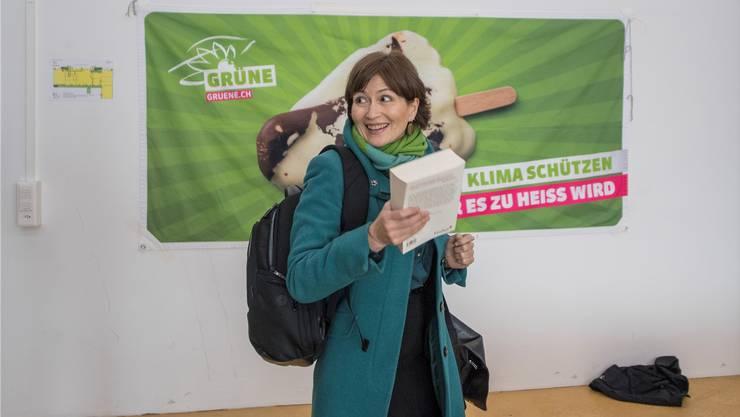 Jubel bei Regula Rytz, seit 2012 Präsidentin der Grünen.