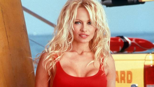 """Die Rolle des Lebens: Pamela Anderson in """"Baywatch""""."""