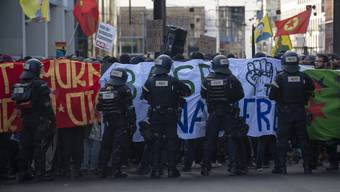 Die unbewilligte «Basel-Nazifrei»-Demo im November 2018 war die Reaktion auf einen Aufmarsch der rechtsextremen Partei PNOS.