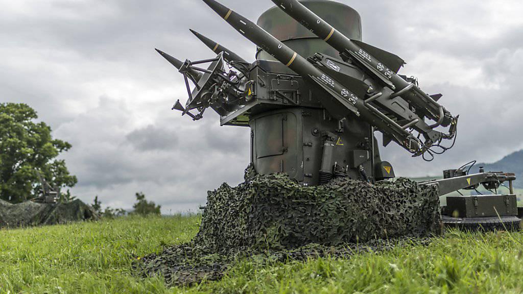 Diese veralteten Fliegerabwehrraketen sollten mit Bodluv ersetzt werden. Unterdessen wurde das Projekt aber sistiert. (Archivbild)