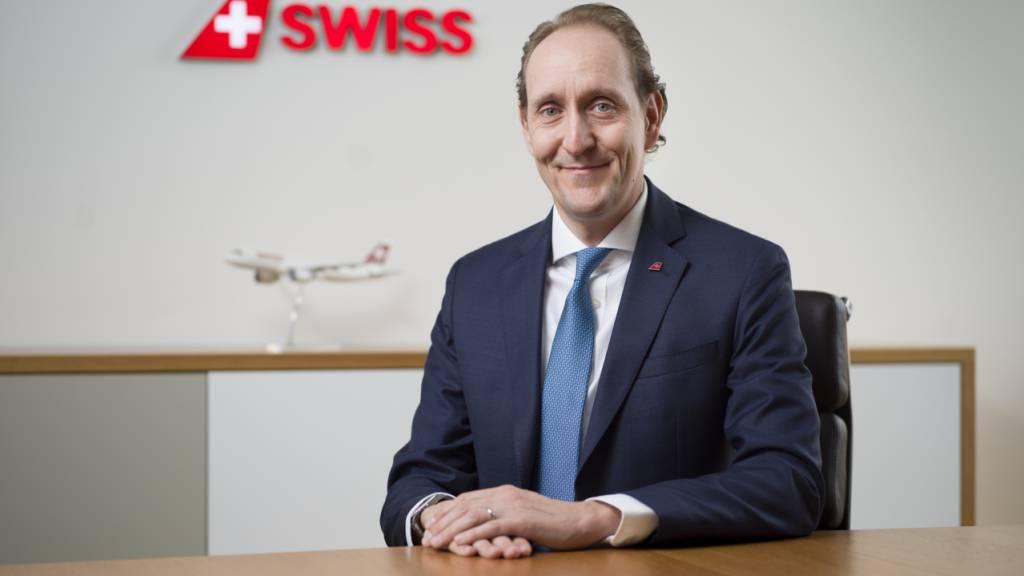Swiss-Chef Dieter Vranckx denkt angesichts der andauernden Verluste  auch an eine mögliche Redimensionierung der Airline. (Archivbild)