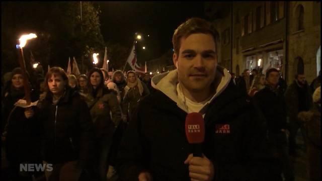 Hunderte demonstrieren gegen Moutier-Entscheid