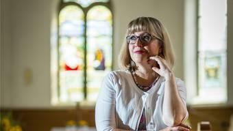 Nadine Hassler ist die neue und erste Pfarrerin im ganzen Ruedertal.