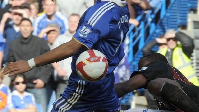 Auch Chelseas Didier Drogba traf nicht