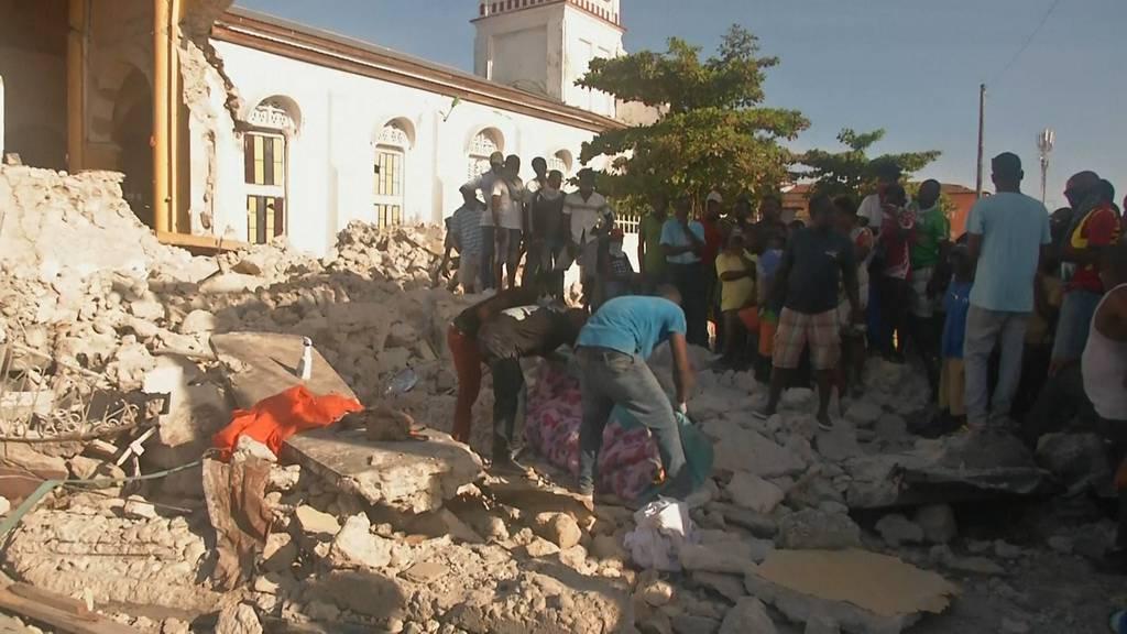 Fast 1'300 Opfer nach Erdbeben - jetzt naht der Tropensturm