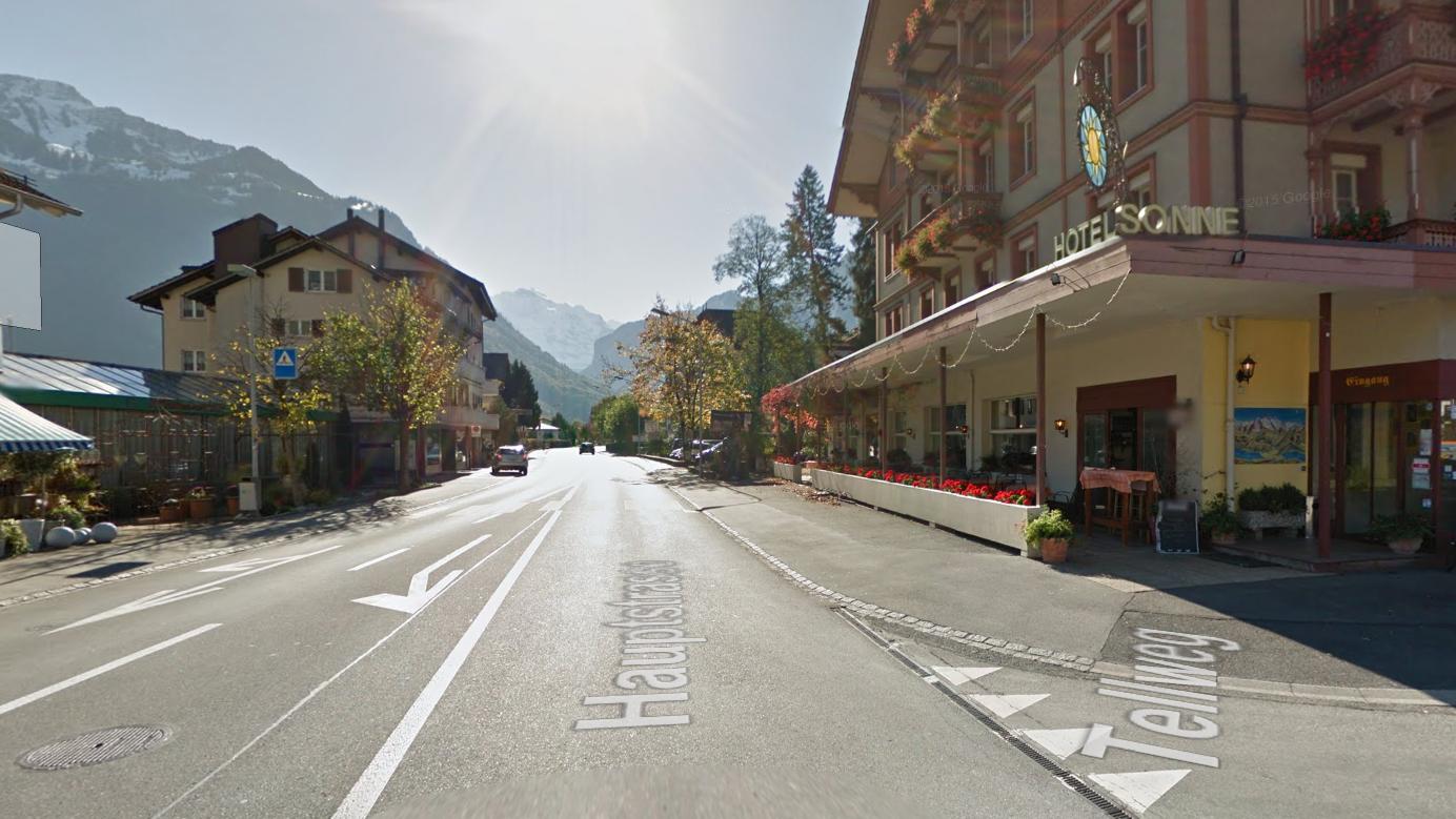 Printscreen Google maps