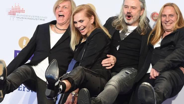 Sängerin und Schauspielerin Anna Loos hat sich von der Band Silly getrennt, schliesst aber eine neue Zusammenarbeit nicht aus. (Archiv)