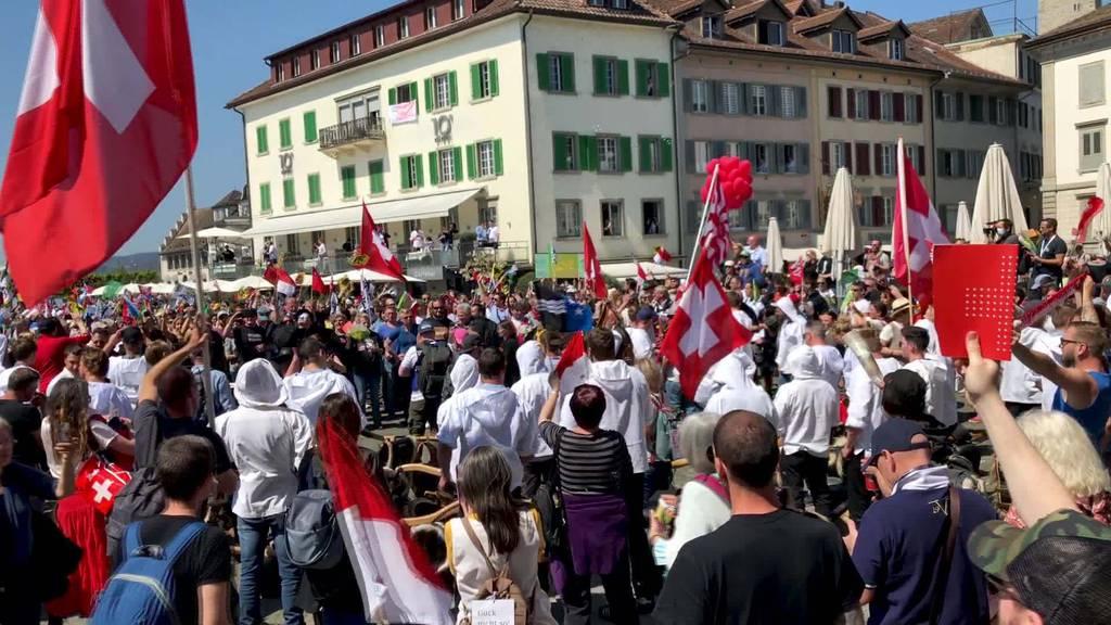 Corona-Demo: Politiker stellen St.Galler Regierung zur Red