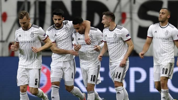 Das vorerst letzte Bild aus der Europa League für den FC Basel.
