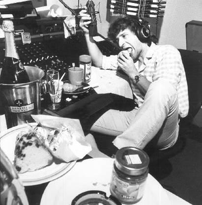 Thomas Diethelm beim Zmorge im Studio 1985
