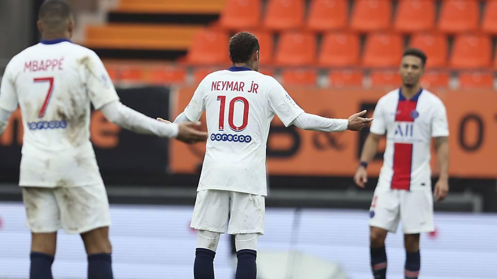 PSG blamiert sich bei Abstiegskandidat Lorient