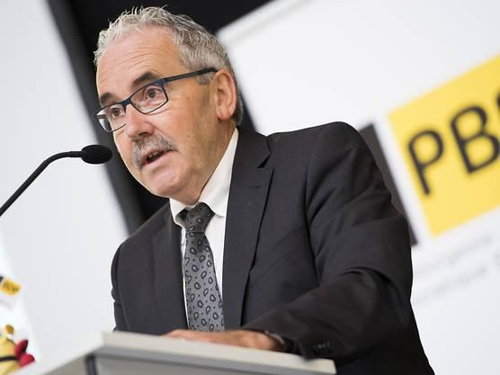 Rang 3: BDP-Nationalrat und BDP-Mitgründer Hans Grunder.