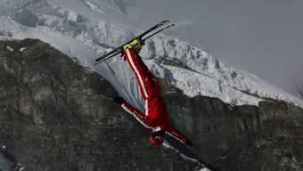 Der Skiakrobat Dimitri Isler aus Fahrwangen vor der Weltcup-Saison. zvg