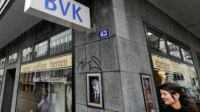 Sitz der BVK in Zürich. (Archiv)