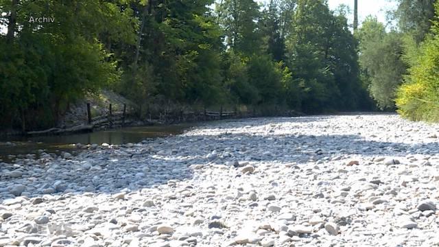 Trotz Gewitter akuter Wassermangel im Kanton