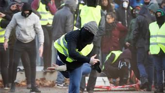 Jetzt auch in Belgien: Die Protestbewegung der gelben Vesten breitet sich über Frankreich hinaus aus.
