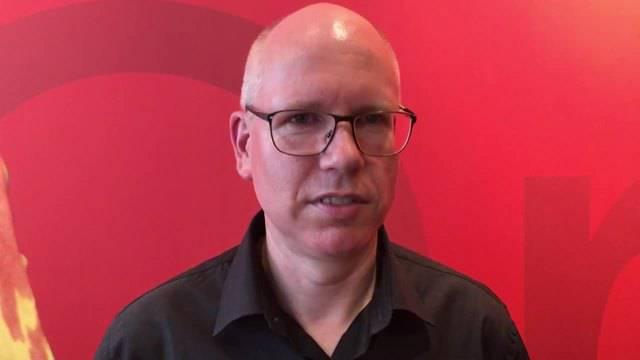 Limeco-Geschäftsführer Patrik Feusi im Interview nach dem Ja zum Landkauf.