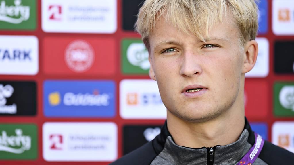 Dänischer Lille-Schreck: Kasper Dolberg bringt Nizza bereits nach 57 Sekunden in Führung. (Archivbild)