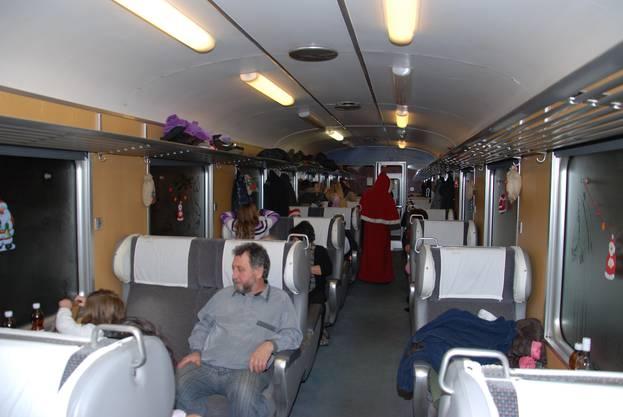 1. Klasse-Wagen der SBB gehört dem Verein