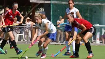 Die Frauen des HC Rotweiss Wettingen entscheiden das Derby klar und deutlich für sich. (Archiv)