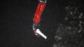 Der erst 18-jährige Noé Roth zeigte wie hier im Bild an den Weltmeisterschaften in Deer Valley auch am Weltcup in Moskau eine starke Leistung