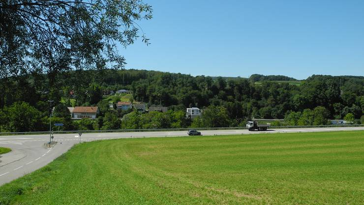 Für diese Landparzelle im Mettauertaler Ortsteil Etzgen erhob die Gemeinde einen Mehrwertausgleich.