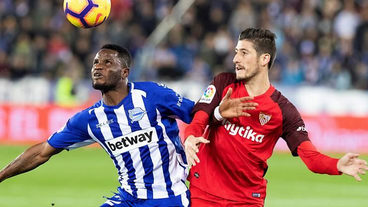 Der FC Sevilla kam auswärts gegen Alaves nur zu einem Remis und musste die Tabellenführung abgeben
