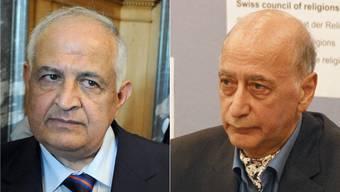 Fids-Präsident Hisham Maizar und Kios-Präsident Farhad Afshar