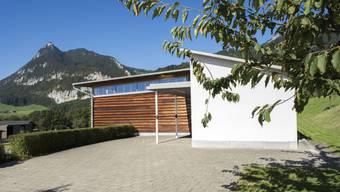 Das idyllische Kirchgemeindehaus in Günsberg. Hier wurde am 5. März für die Verfassungsänderung in der Türkei geweibelt.