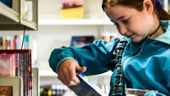 Die Bibliothek Wohlen bietet weiterhin Schülerführungen an. züst/archiv