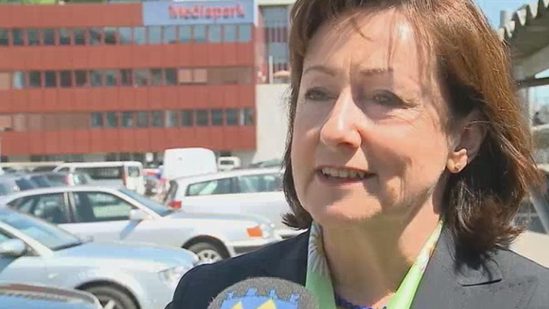 Sylvia Flückiger im TeleM1-Beitrag