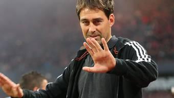 Der Schweizer Trainer René Weiler ist mit Anderlecht in der Europa League auf Kurs