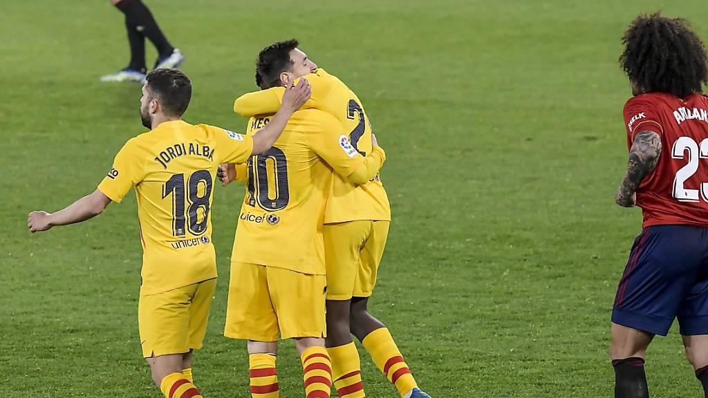 Barcelona gewinnt mit Messi als Vorbereiter