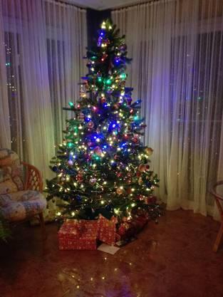 Weihnachtsbaum von Ruedi Weber, Seon