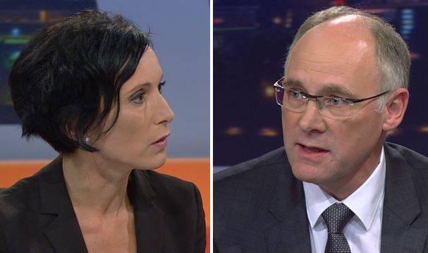 Im Wahltalk-Finale traten Pascale Bruderer (SP) und Hansjörg Knecht (SVP) gegeneinander an – sehen Sie die wichtigsten Momente in unserem Zusammenschnitt