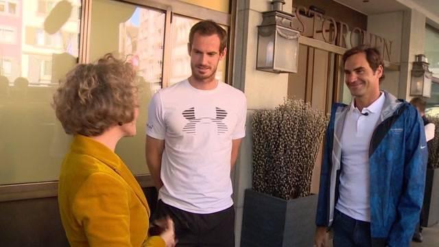 Federer und Murray gemeinsam für den guten Zweck