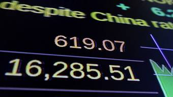 Trotz Sorgen über die Wirtschaft in China kannte der Dow Jones am Mittwoch nur eine Richtung: nach oben.