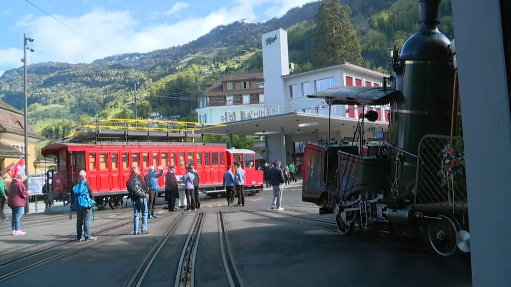 Jubiläumsfeier: 150 Jahre Rigi-Bahnen
