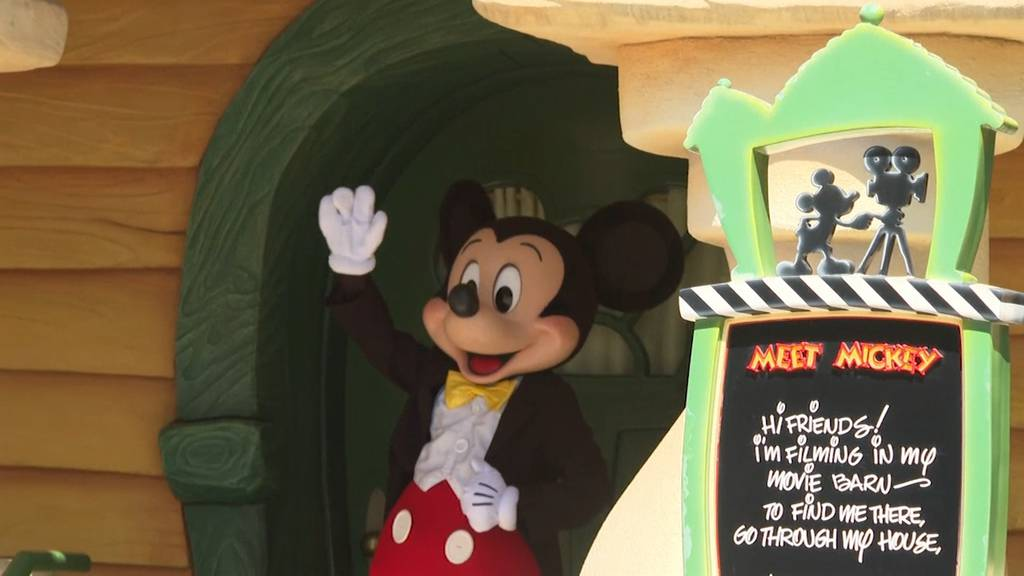 Mickey ist zurück:  Disneyland öffnet nach 13 Monaten Corona-Schliessung