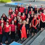 Der Gospelchor Kumbaya besteht aus 32 begeisterten Hobby-Sängerinnen und -sängern.