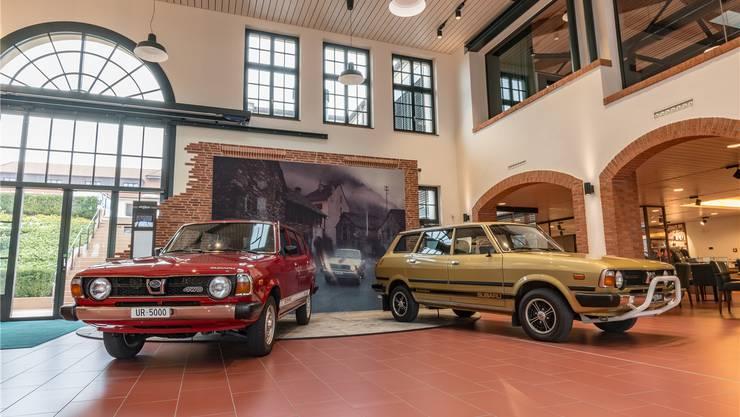 Mit dem Subaru 1600 4WD startete die Marke in der Schweiz.