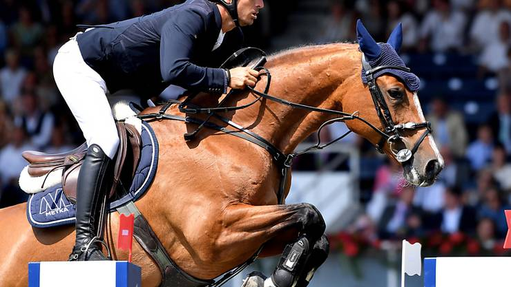 Steve Guerdat mit seinem Spitzenpferd Bianca