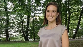 Arbeitet bei Petra Gössi: die Aarauer FDP-Einwohnerrätin Anna Wartmann.