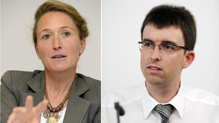 Susanne Hochuli will keine geschlossenen Asylzentren, Clemens Hochreuter findet, dass sie rechtlich möglich sind.