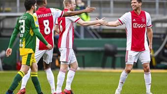 Bald bei Schalke? Klaas-Jan Huntelaar (rechts).