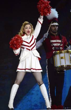 Madonna in Zürich: Das Konzert war nicht ausverkauft.