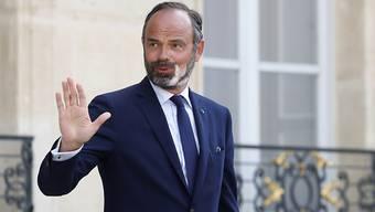 ARCHIV - Die französische Regierung unter Premierminister Édouard Philippe (49) ist komplett zurückgetreten. Foto: Gonzalo Fuentes/Pool Reuters/AP/dpa
