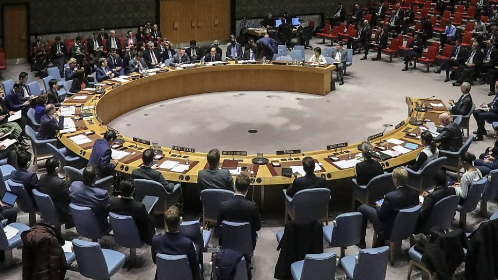 Uno-Sicherheitsrat soll Donnerstag erstmals zu Coronavirus beraten