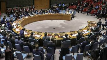 Am Donnerstag soll sich der Uno-Sicherheitsrat mit der Lage in der Welt während der Coronavirus-Pandemie beschäftigen. (Archivbild)